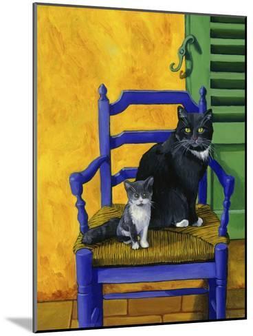 Cats of Provence (Chats de Provence)-Isy Ochoa-Mounted Giclee Print
