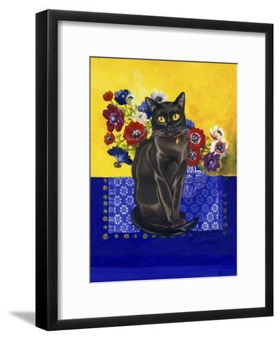 Burmese Cat, Series II-Isy Ochoa-Framed Art Print