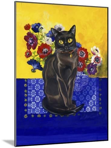 Burmese Cat, Series II-Isy Ochoa-Mounted Giclee Print
