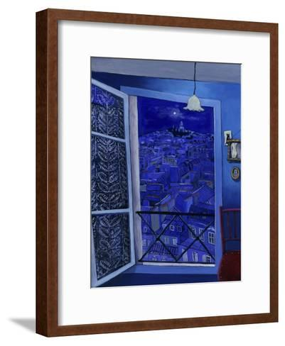 View on Montmartre (Vue Sur Montmartre)-Isy Ochoa-Framed Art Print