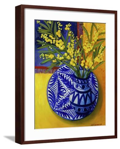 Mimosas, Series I-Isy Ochoa-Framed Art Print