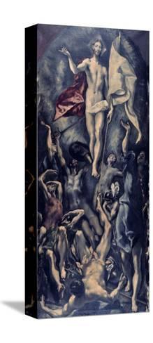 Resurrection-El Greco-Stretched Canvas Print