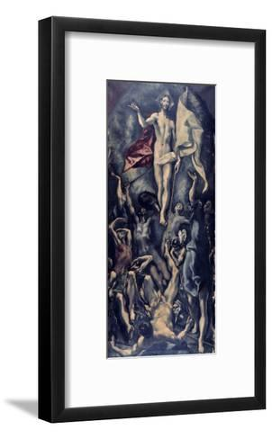 Resurrection-El Greco-Framed Art Print