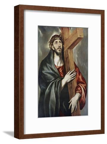 Via Crucis-El Greco-Framed Art Print