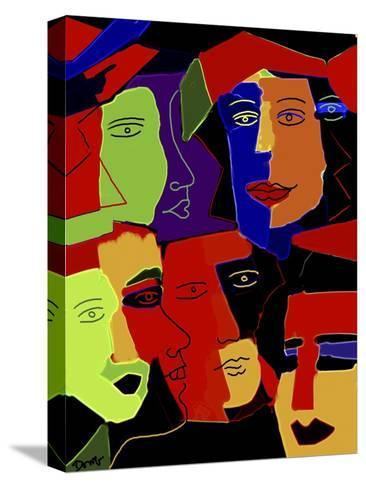 Paperheads-Diana Ong-Stretched Canvas Print
