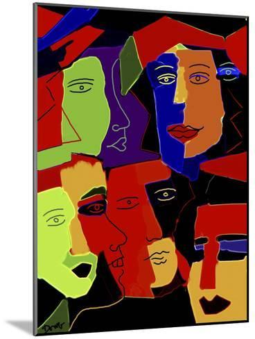 Paperheads-Diana Ong-Mounted Giclee Print
