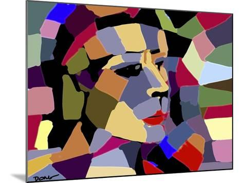 A Portrait-Diana Ong-Mounted Giclee Print