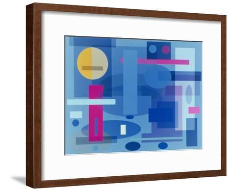 Abstract No.41-Diana Ong-Framed Art Print