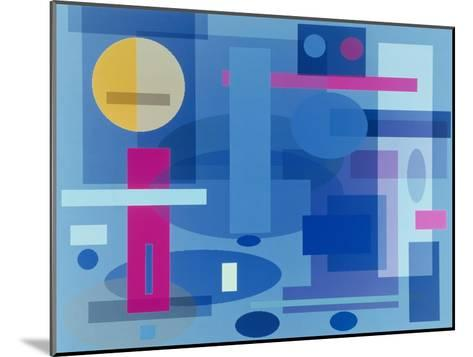 Abstract No.41-Diana Ong-Mounted Giclee Print