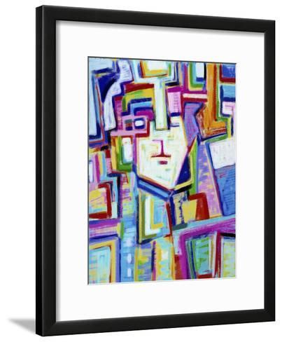Mask-Diana Ong-Framed Art Print