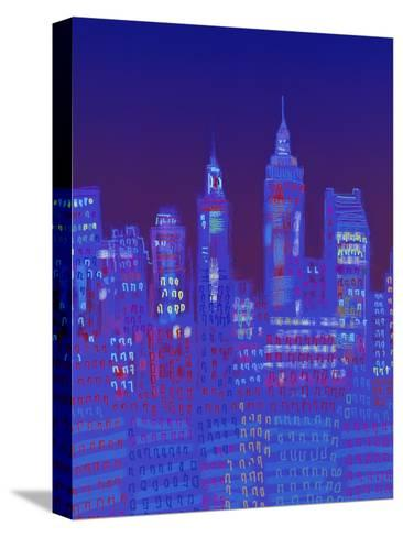 New York, New York-Diana Ong-Stretched Canvas Print