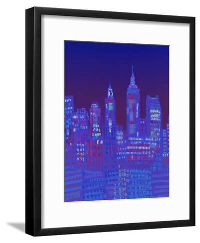 New York, New York-Diana Ong-Framed Art Print