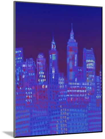 New York, New York-Diana Ong-Mounted Giclee Print