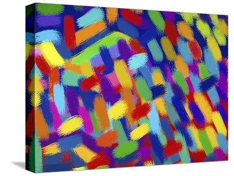 Abstractions-Diana Ong-Stretched Canvas Print