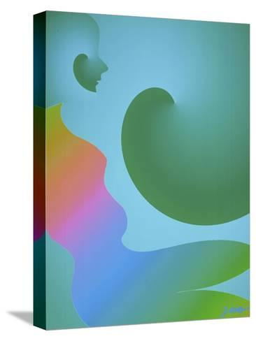 Rainbow Woman-Diana Ong-Stretched Canvas Print