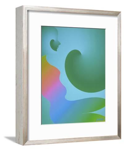 Rainbow Woman-Diana Ong-Framed Art Print