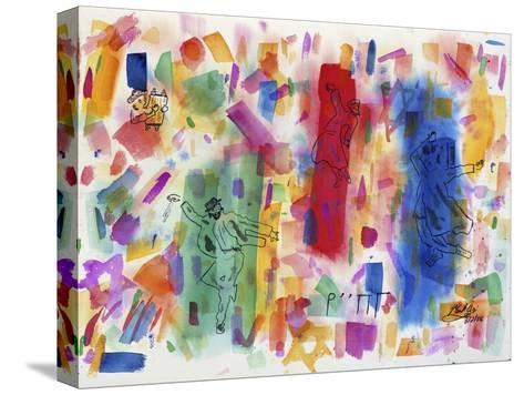 Joie de Juifs-Mark Ari-Stretched Canvas Print