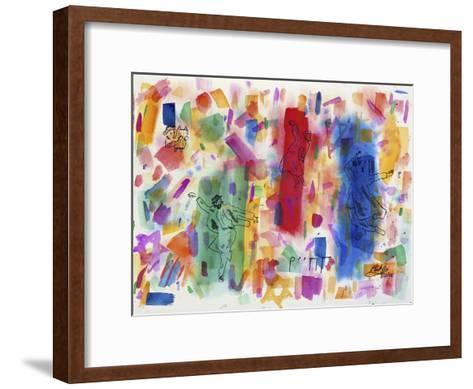 Joie de Juifs-Mark Ari-Framed Art Print