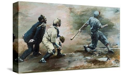 The Run-Lance Richbourg-Stretched Canvas Print