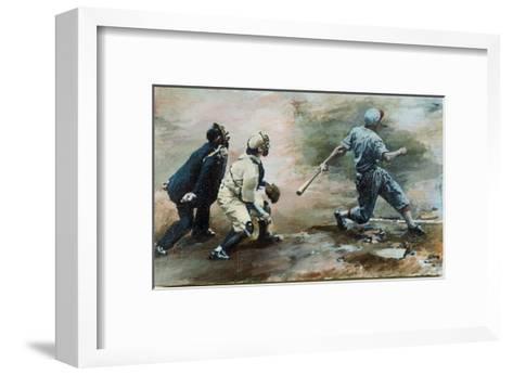 The Run-Lance Richbourg-Framed Art Print