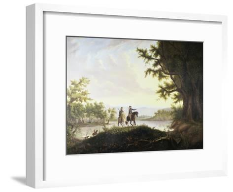 Lewis and Clark Expedition-Thomas Mickell Burnham-Framed Art Print