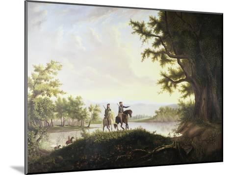 Lewis and Clark Expedition-Thomas Mickell Burnham-Mounted Giclee Print