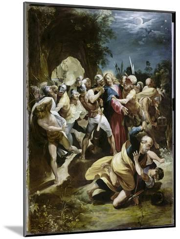 Capture of Christ-Giuseppe Cesari Arpino-Mounted Giclee Print
