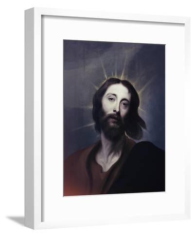 Jesus Christ-Sir Anthony Van Dyck-Framed Art Print