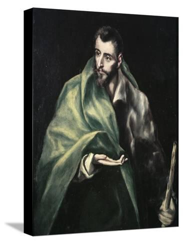 Apostle St. James the Greater-El Greco-Stretched Canvas Print