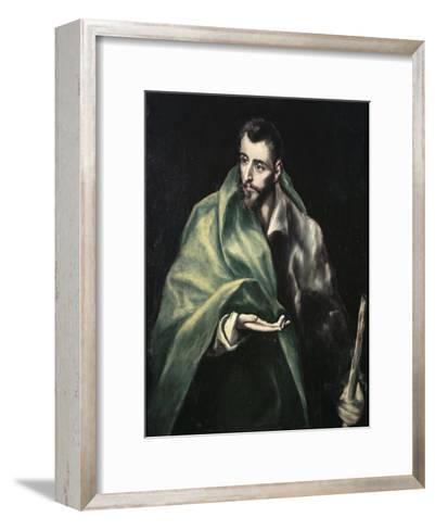 Apostle St. James the Greater-El Greco-Framed Art Print