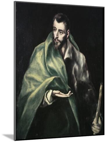 Apostle St. James the Greater-El Greco-Mounted Giclee Print