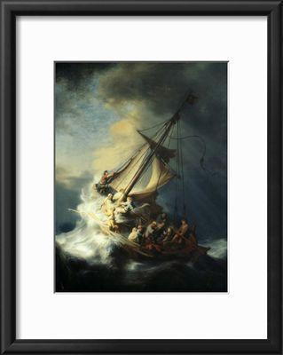 The storm on the sea of galilee giclee print by rembrandt van rijn 17599 publicscrutiny Images
