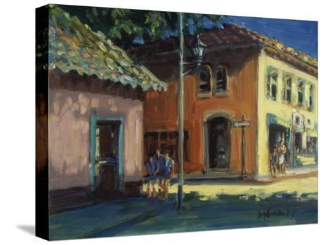 Puerto Vallarta Street Scene-Patti Mollica-Stretched Canvas Print