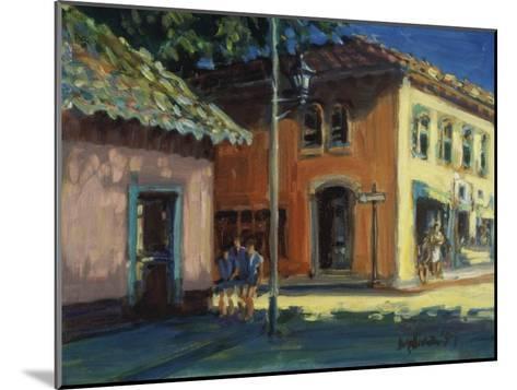 Puerto Vallarta Street Scene-Patti Mollica-Mounted Giclee Print