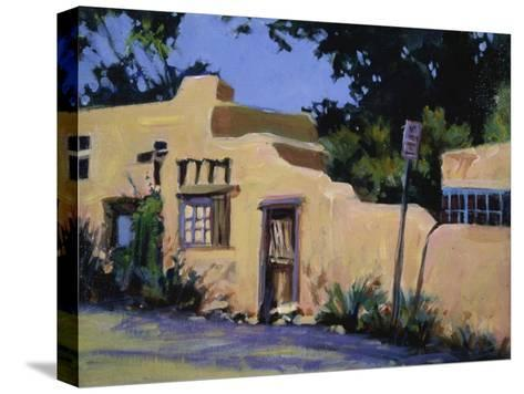 Pueblo in New Mexico-Patti Mollica-Stretched Canvas Print