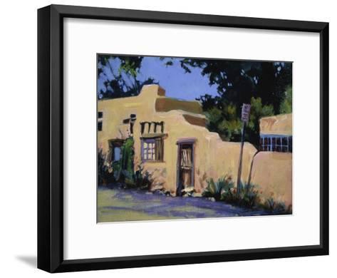 Pueblo in New Mexico-Patti Mollica-Framed Art Print