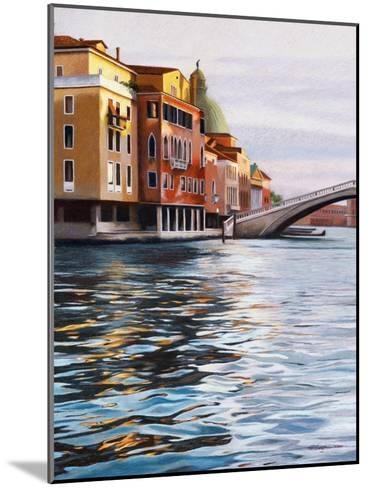 A Canal in Venice-Helen J^ Vaughn-Mounted Giclee Print