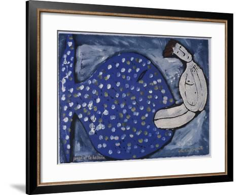 Jonah and the Whale-Leslie Xuereb-Framed Art Print