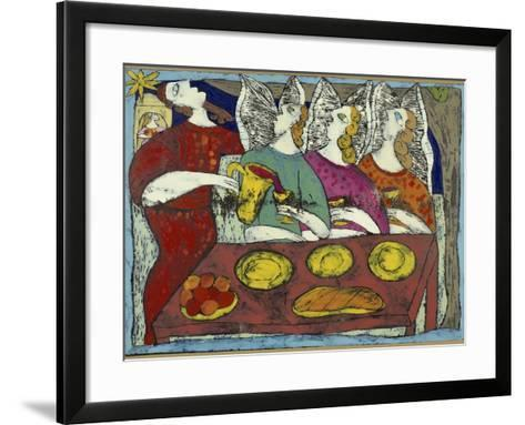 The Hospitality of Abraham-Leslie Xuereb-Framed Art Print
