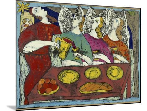 The Hospitality of Abraham-Leslie Xuereb-Mounted Giclee Print