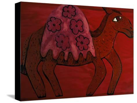 Camel-Leslie Xuereb-Stretched Canvas Print