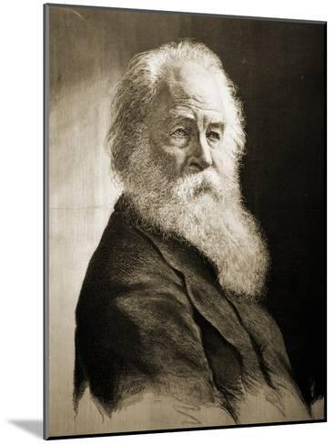 Walt Whitman-Moritz Klinkicht-Mounted Giclee Print