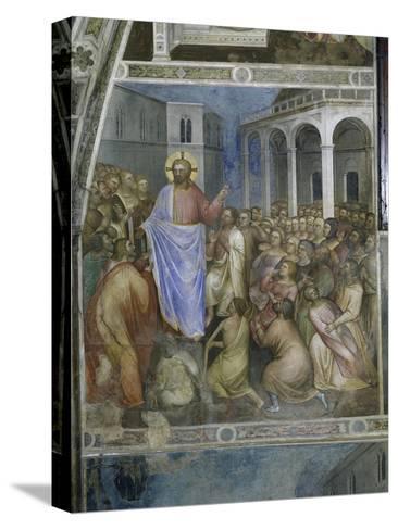 Jesus's Miracles-Giusto De' Menabuoi-Stretched Canvas Print