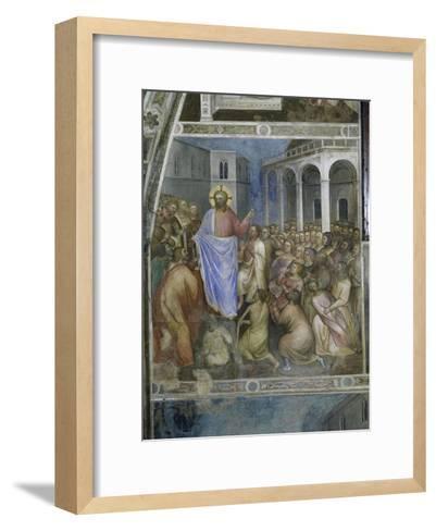 Jesus's Miracles-Giusto De' Menabuoi-Framed Art Print