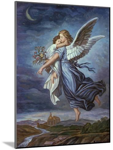 The Guardian Angel-Wilhelm Von Kaulbach-Mounted Giclee Print