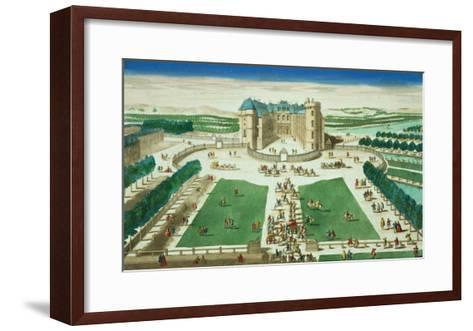The Chateau Rambouillet--Framed Art Print