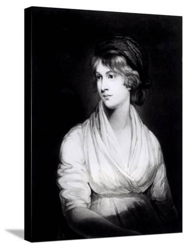 Portrait of Mary Wollstonecraft Godwin Author of a Vindication of the Rights of Woman-John Opie-Stretched Canvas Print