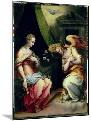 The Annunciation-Giorgio Vasari-Mounted Giclee Print