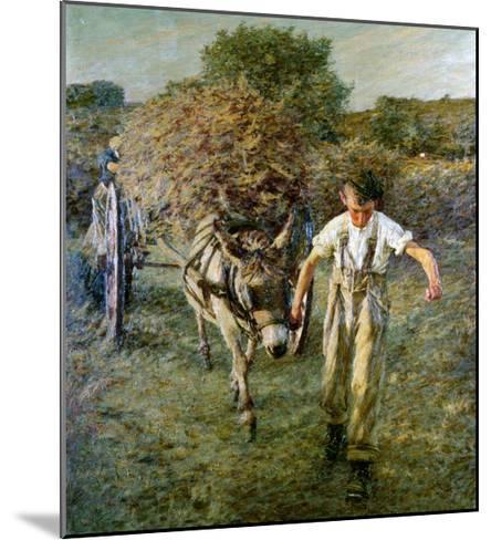 The Haywain, circa 1889-Henry Herbert La Thangue-Mounted Giclee Print
