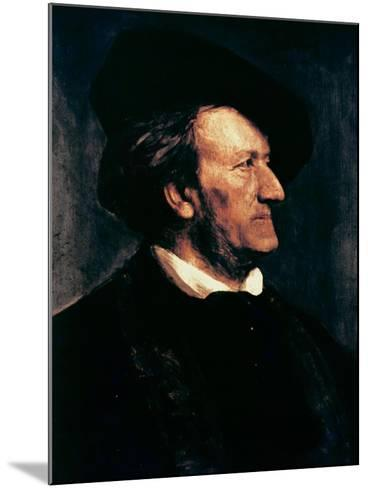 Portrait of Richard Wagner-Franz Seraph von Lenbach-Mounted Giclee Print